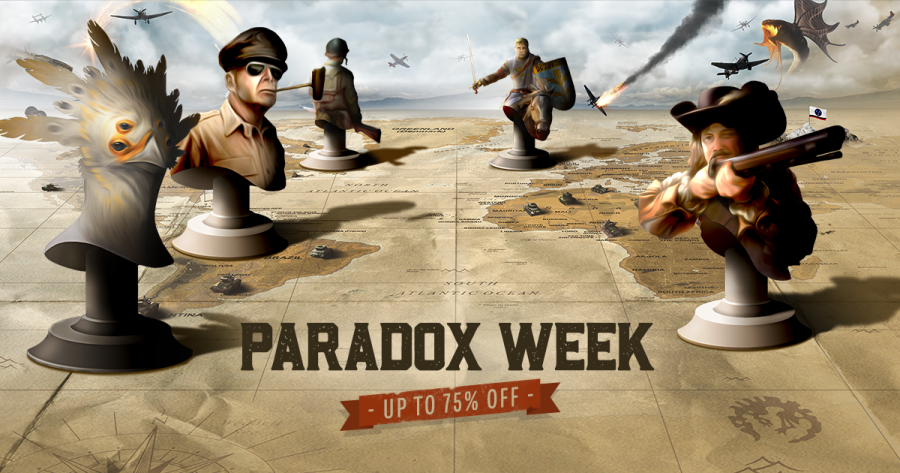 Paradox Weekend Sale is LIVE in the Humble Store – up to 75% off!