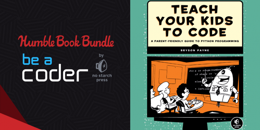 Name your price for Humble Book Bundle: Be a Coder by No Starch Press