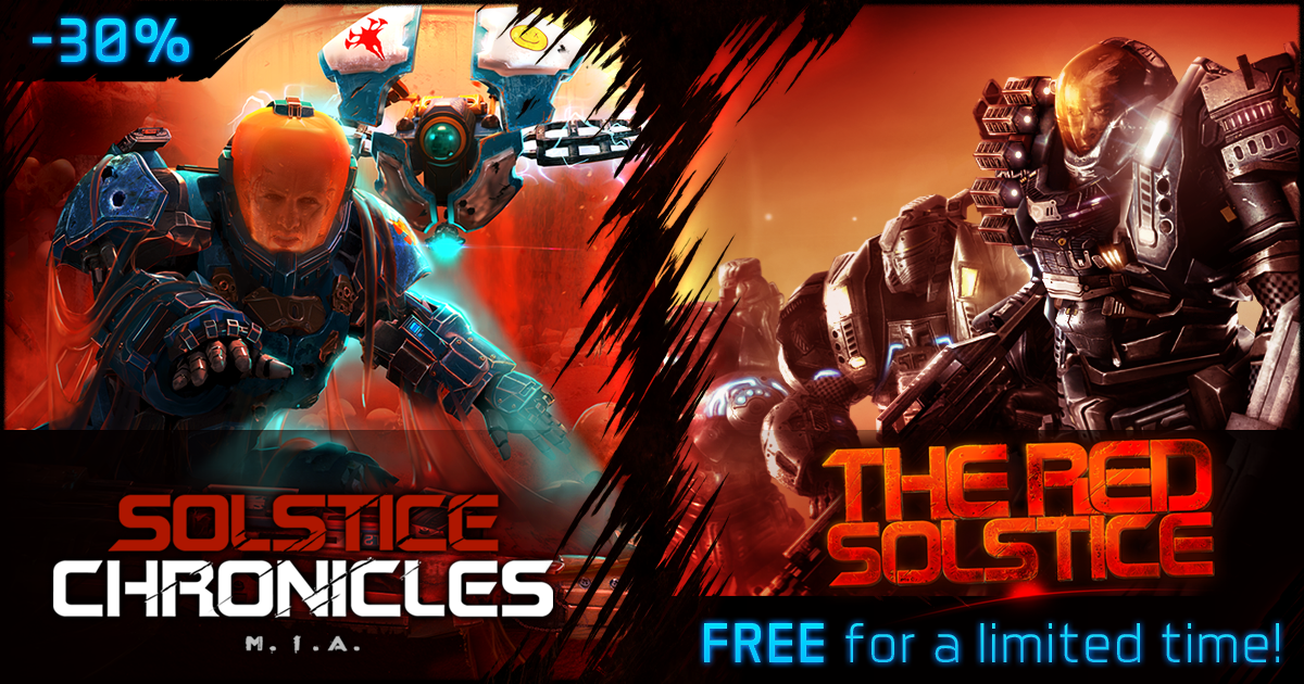Get The Red Solstice for free, plus big discounts on other Steam