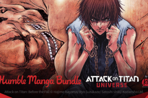 Pay what you want for Humble Manga Bundle: Attack on Titan Universe by Kodansha