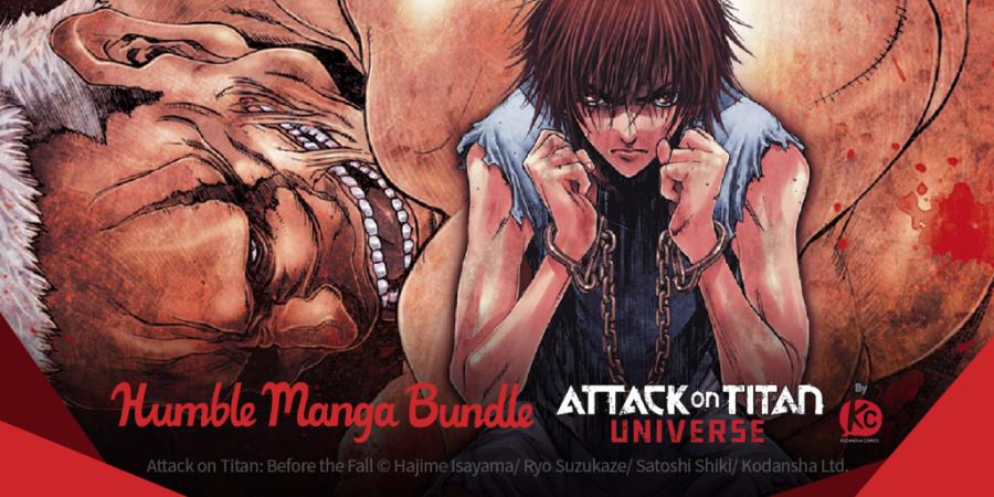 Pay what you want for Humble Manga Bundle: Attack on Titan Universe by Kodansha