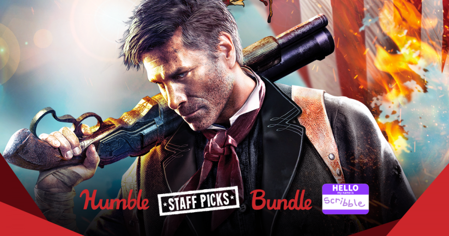 Pay what you want for top games in The Humble Staff Picks Bundle: Scribble