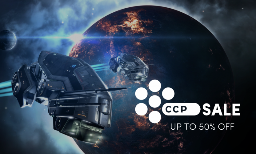 EVE series up to 50% off in the CCP Publisher sale