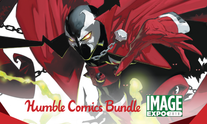 Pay what you want for the Humble Comics Bundle: Image Expo 2018