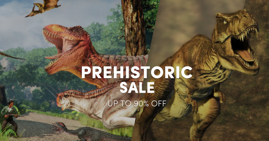 Save up to 90% in the Prehistoric Sale – Jurassic Park, Turok, and more!