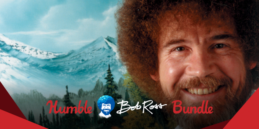 Pay what you want for the Humble Bob Ross Bundle!