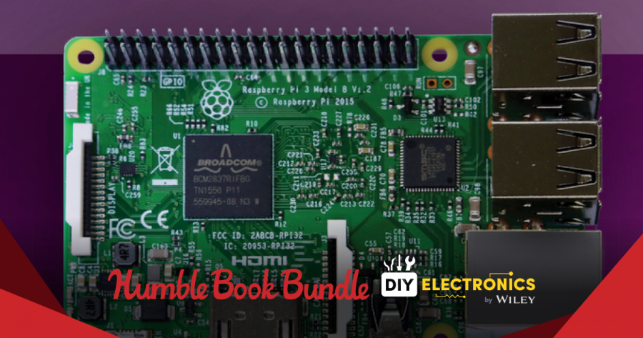 Pay what you want for The Humble Book Bundle: DIY Electronics by Wiley - Raspberry Pi, Arduino, and more!
