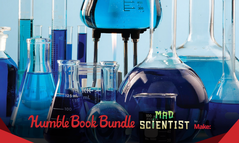 Pay what you want for The Humble Book Bundle: Mad Scientist by Make: