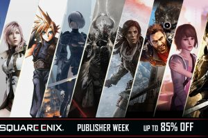 Up to 85% off in the Square Enix Publisher Week sale!