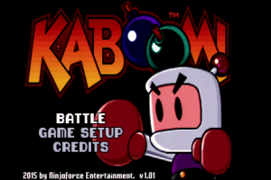 Review: KABOOM! (2015, Ninjaforce Entertainment) – Apple IIGS