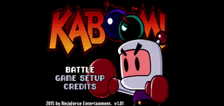 Review: KABOOM! (2015, Ninjaforce Entertainment) - Apple IIGS