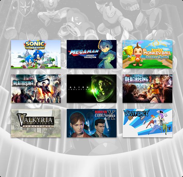 The Humble Capcom X SEGA PlayStation Bundle