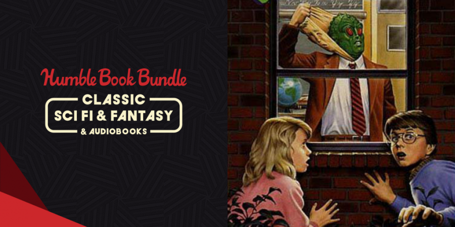 Name your own price for The Humble Book Bundle: Classic Sci Fi & Fantasy & Audiobooks!