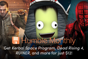 Kerbal Space Program, Dead Rising 4, and RUINER are the May Humble Monthly Early Unlock games!