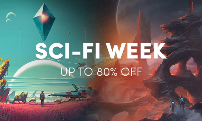 Up to 80% off great Steam games in the Sci-Fi Week sale!