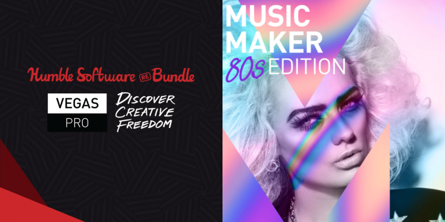 Name your price for The Humble Software REBundle: VEGAS Pro: Discover Creative Freedom