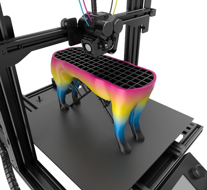 Pre-order discounts available for impressive new M3D Crane 3D Printer series - full-color 3D printing!