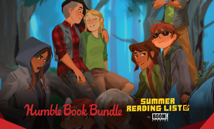 Pay what you want for The Humble Book Bundle: Summer Reading List by BOOM! Studios
