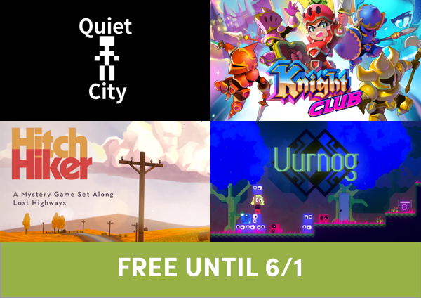 Four DRM-free Humble Original games are FREE and available for everyone for a limited time in the Humble Trove!