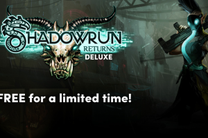 Get a free copy of Shadowrun Returns Deluxe for Steam for the next 48 hours