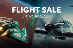 Up to 80% off in the Flight sale - Great Steam games like Worlds Adrift, Everspace, IL-2 Sturmovick, and more!