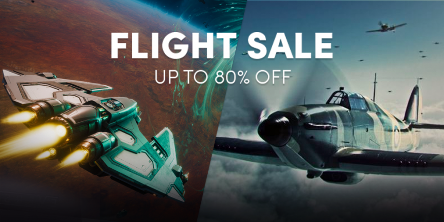 Up to 80% off in the Flight sale – Great Steam games like Worlds Adrift, Everspace, IL-2 Sturmovick, and more!