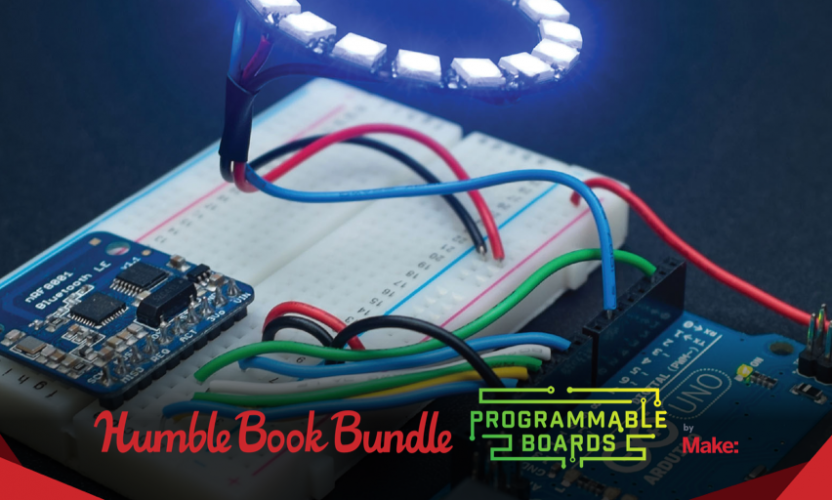Pay what you want for The Humble Book Bundle: Programmable Boards by Make:
