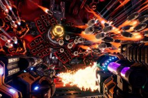 MOTHERGUNSHIP is now available - Mixes bullet-hell intensity with the FPS genre!
