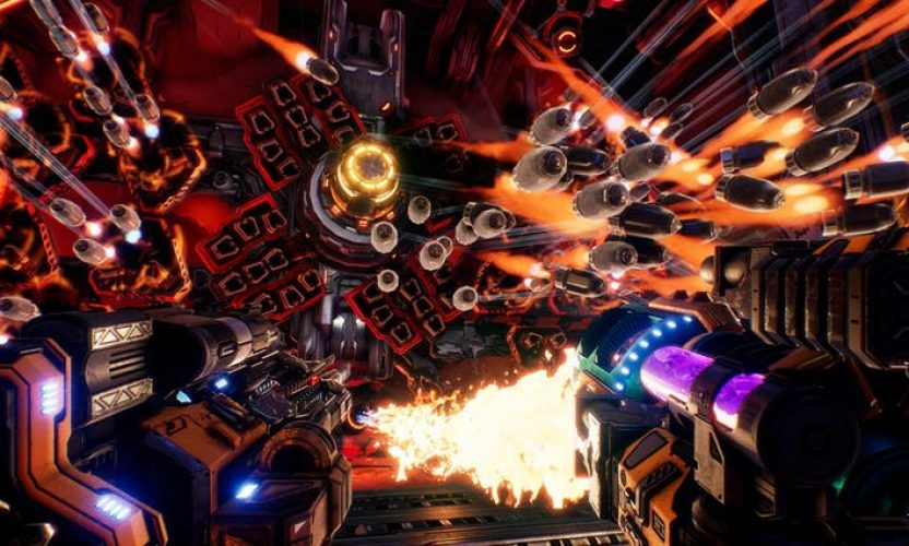 MOTHERGUNSHIP is now available – Mixes bullet-hell intensity with the FPS genre!