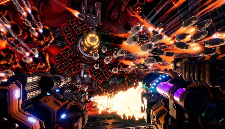 MOTHERGUNSHIP is now available - Mixes bullet-hell intensity