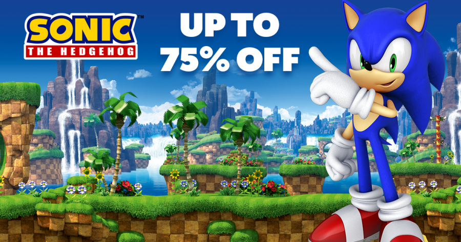 Sonic the Hedgehog Weekend is LIVE in the Humble Store! Up to 75% off great Steam games!