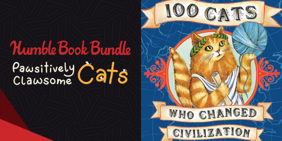 Pay what you want for The Humble Book Bundle: Pawsitively Clawsome Cats