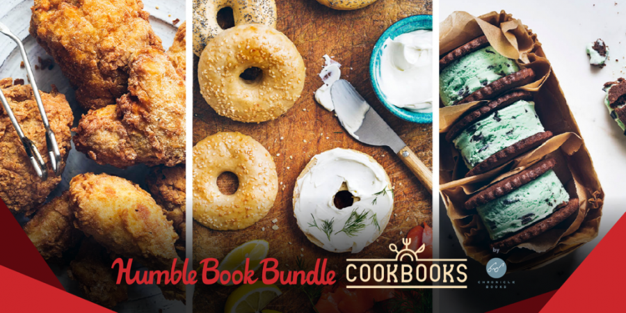 Name your own price for The Humble Book Bundle: Cookbooks by Chronicle