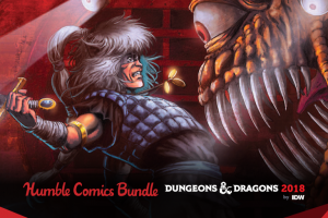 Pay what you want for the Humble Comics Bundle: Dungeons & Dragons 2018!
