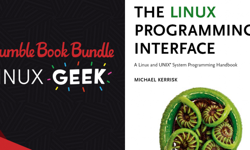 Name your own price for The Humble Book Bundle: Linux Geek by No Starch Press!