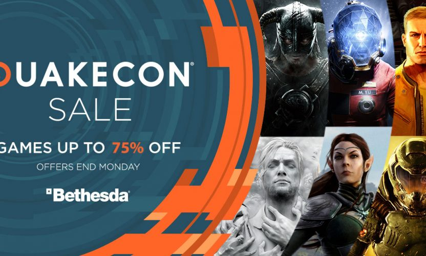 QuakeCon Sale – Up to 75% off Steam games like Fallout, Elder Scrolls, Doom, etc.!