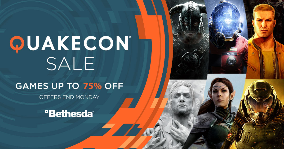 QuakeCon Sale - Up to 75% off Steam games like Fallout