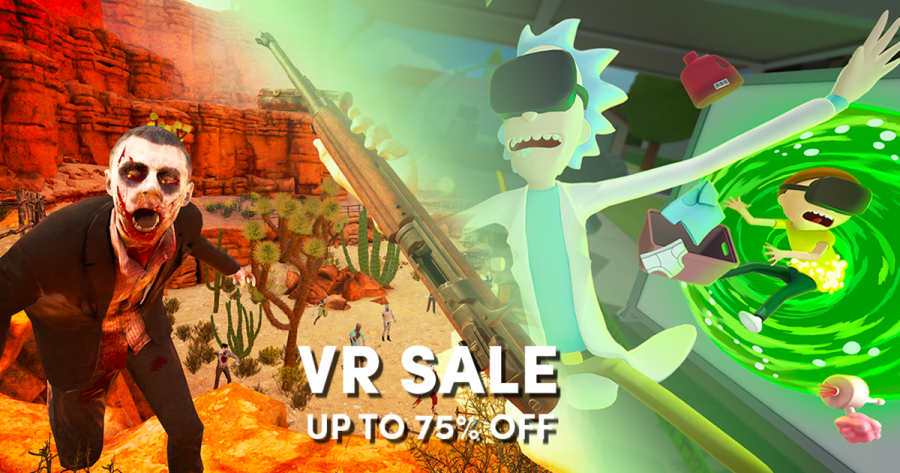 VR Sale – Up to 75% off Steam VR games like Skyrim, Fallout, Rick and Morty, etc.!