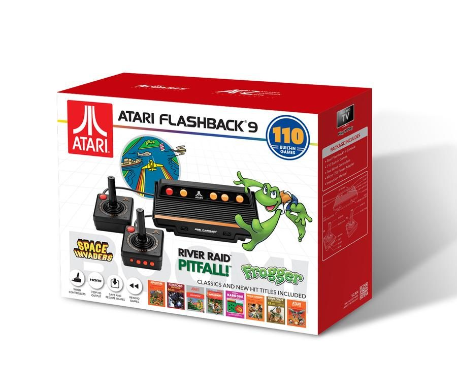 The Official Game List for the AtGames Atari Flashback 9 (2018