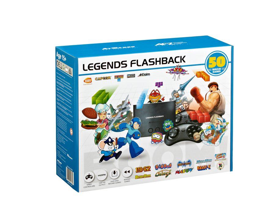 AtGames Announces New Legends Flashback Console!