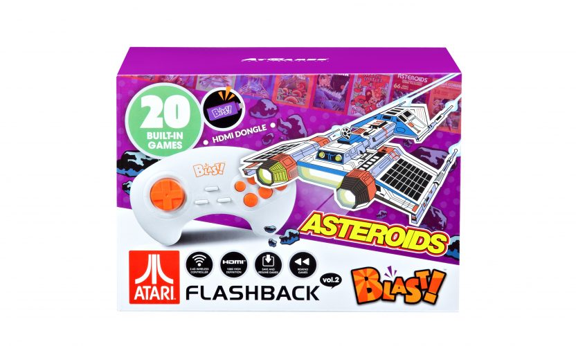 The Official Game List for the AtGames Atari Flashback Blast! vol. 2 (2018)