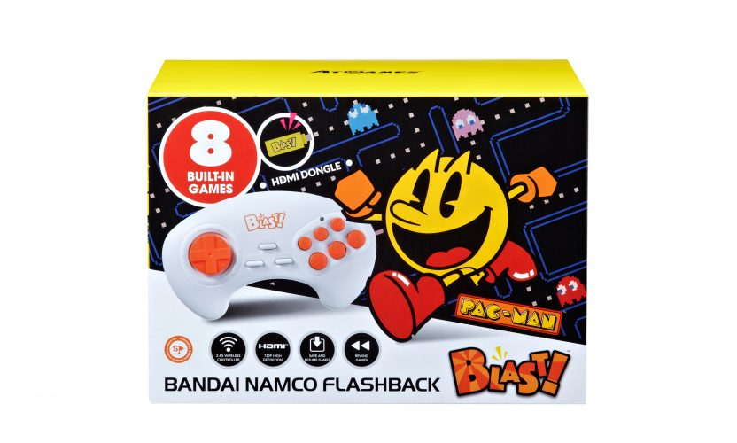 Bandai Namco Flashback Blast!, HDMI dongle and wireless controller, now available for pre-order! (Pac-Man, and more!)