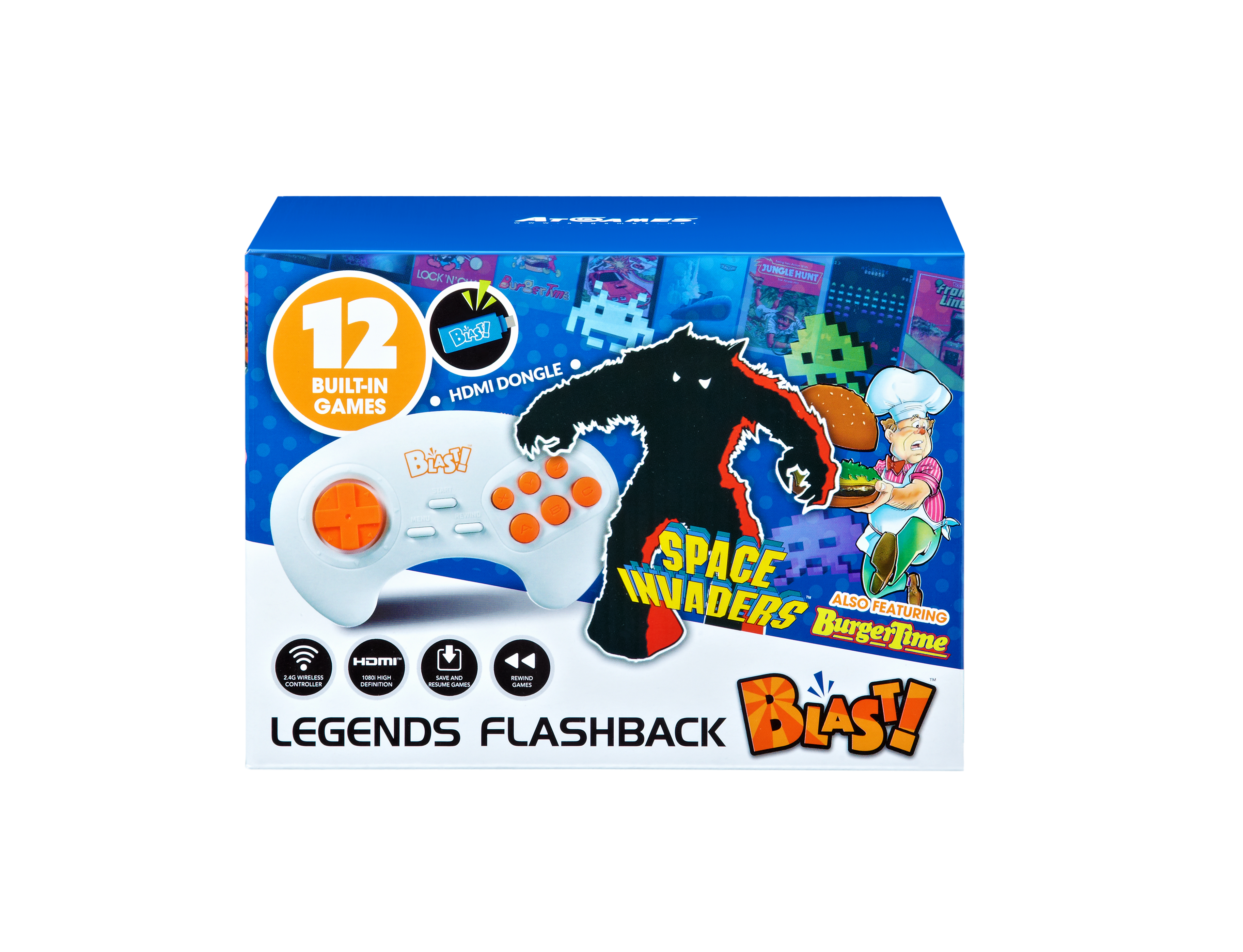 The Official Game List for the AtGames Legends Flashback Blast