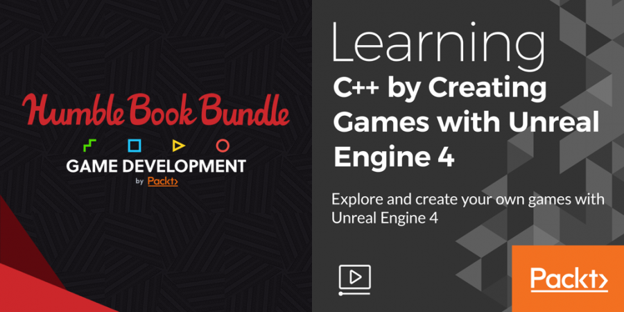 Pay what you want for The Humble Book Bundle: Game Development by Packt!