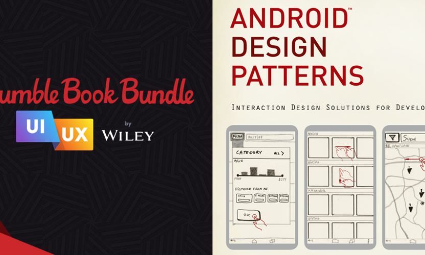 Pay what you want for The Humble Book Bundle: UI/UX by Wiley!