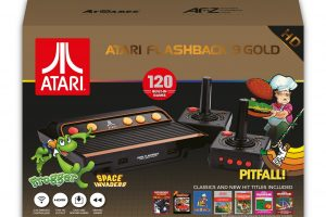 The Official Game List for the AtGames Atari Flashback 9 Gold (2018)