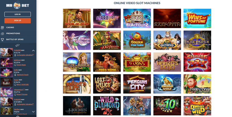 It's all about You and Your Online Casino Games