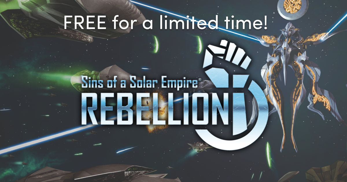 Free copy of Sins of a Solar Empire: Rebellion (Steam), sales, and many name your own price Humble Bundles!