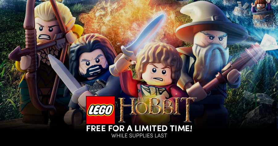 Get a FREE copy of LEGO The Hobbit during the WB Games Sale!
