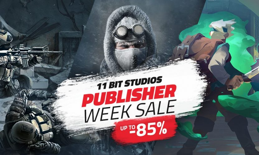 Up to 85% off great 11 Bit Studios Steam and DRM-free games!